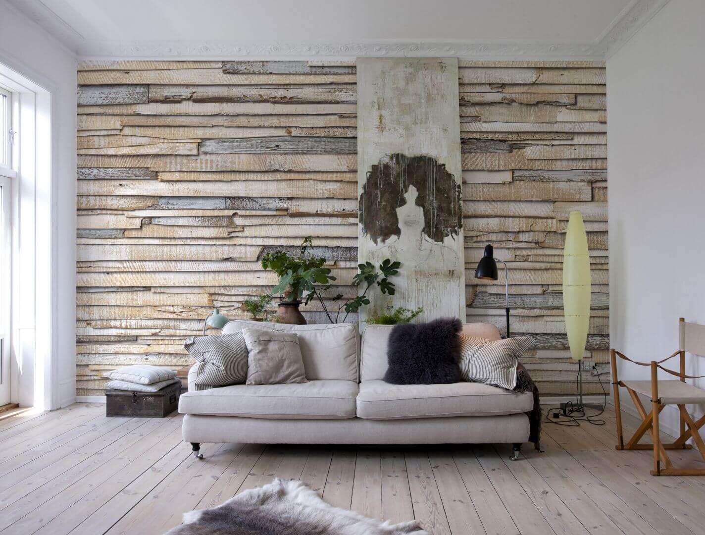 Декор и фотообои на стену